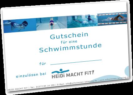 Die Geschenk-Idee: Eine individuelle Schwimmstunde