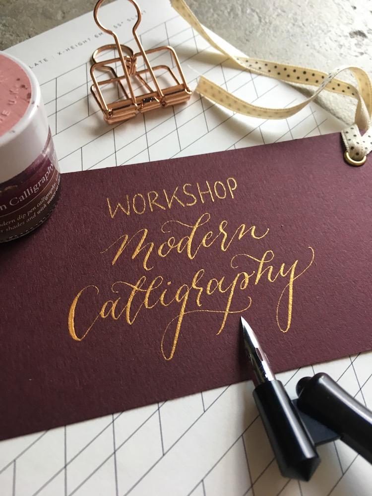 Kalligraphie-Workshop auf der Fraueninsel Chiemsee