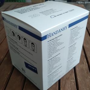 20 Stk. FFP2-Atemschutzmasken - einzeln verpackt