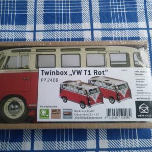 "WERKHAUS Twinbox ""VW T1 Rot"""