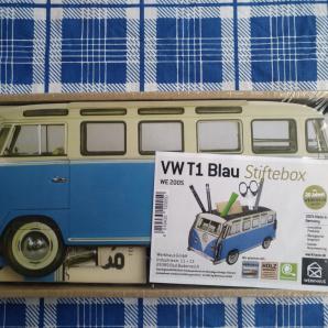 WERKHAUS VW T1 blau Stiftebox