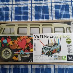 WERKHAUS VW T1 Herzen Stiftebox