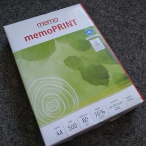 Drucker-, Kopierpapier - 500 Blatt DIN A4 recycling