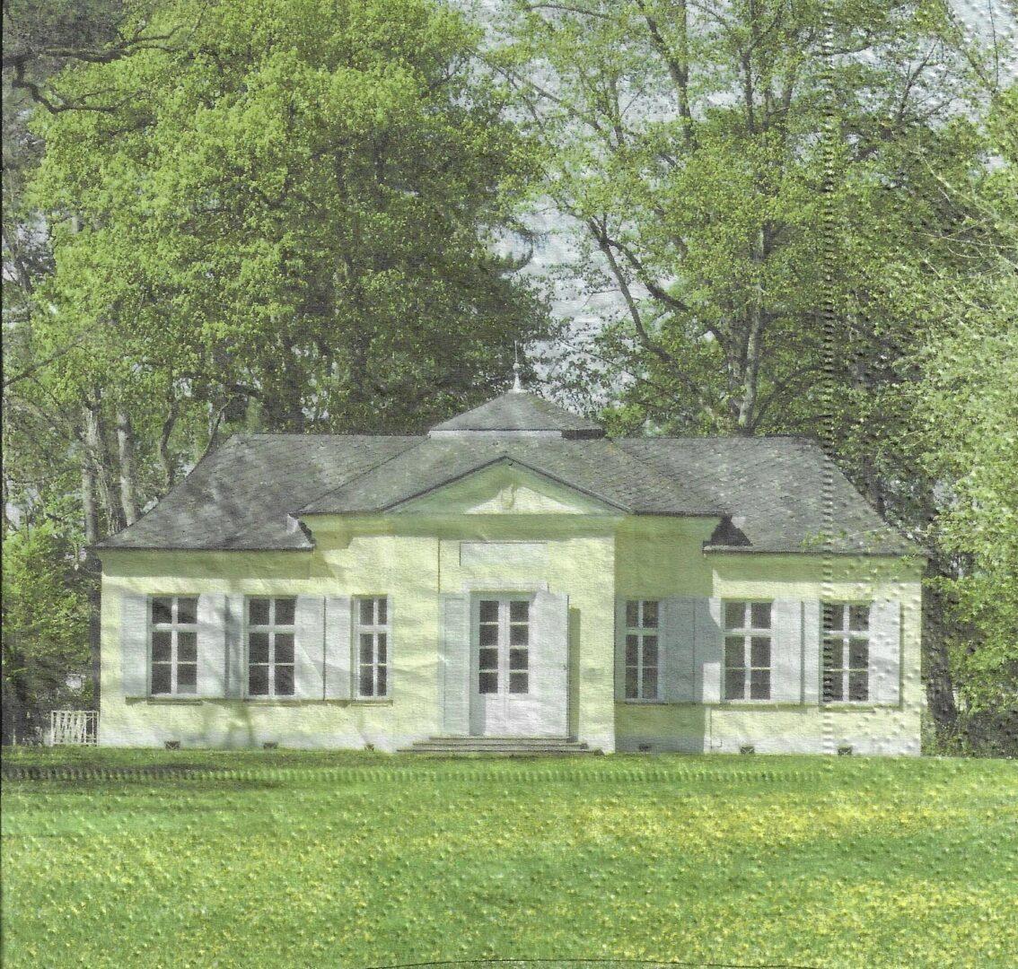 """Serviette """"Schlosspavillon"""""""