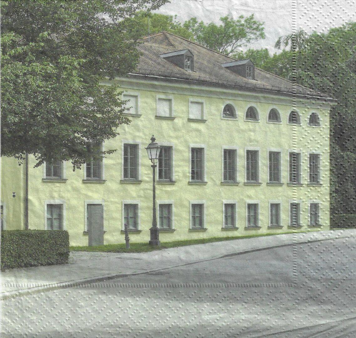 """Serviette """"Schloss Ismaning"""""""