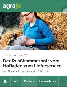 agrajo: Der Ruaßhammerhof: Vom Hofladen zum Lieferservice