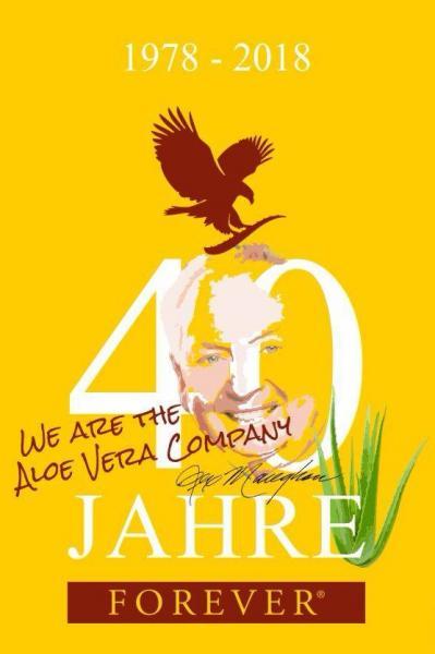 40 JAHRE FOREVER! Aloe Vera, Hautpflege, Vitalstoffe, Figur