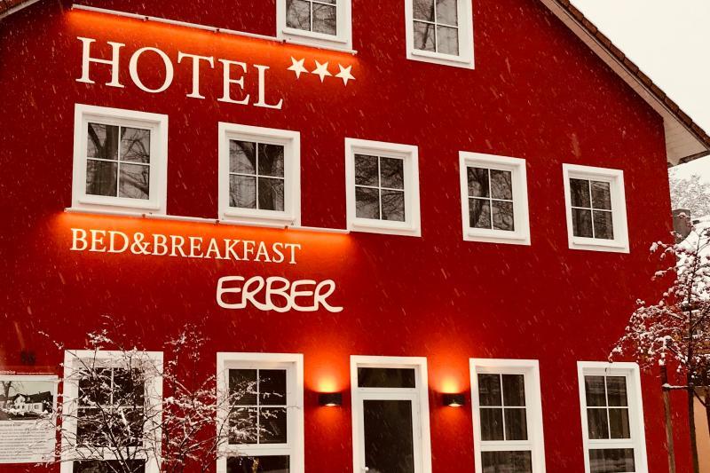 Das Bed&Breakfast Hotel Erber