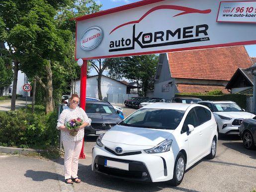 Gratulation zum neuen Toyota Prius