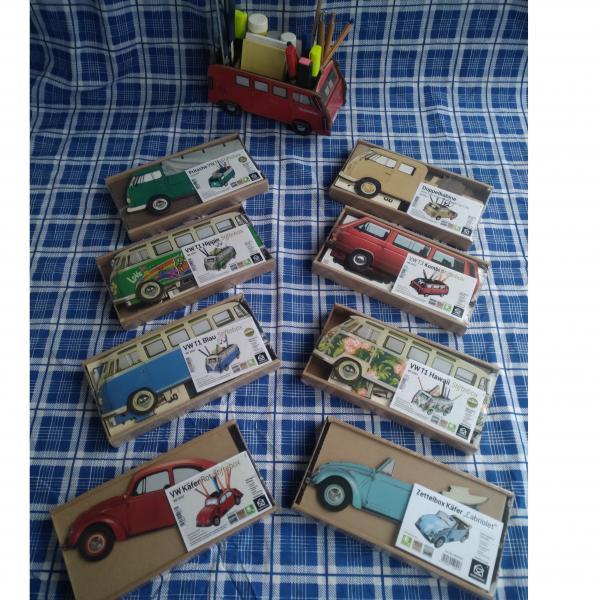 Ab sofort erhältlich: Die WERKHAUS-VW-Stifte und Zettelboxen