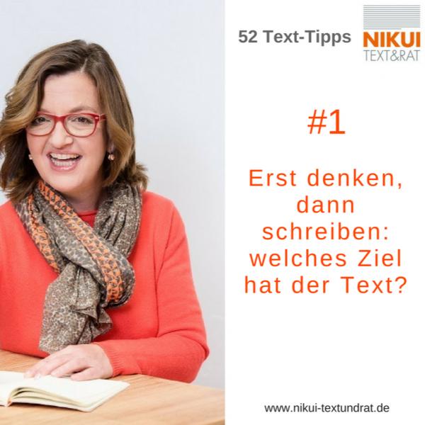 Tipps für erfolgreiche Texte, #1