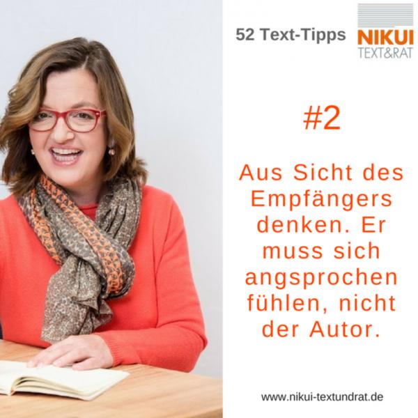 Nikui Text udn Rat Text-Tipp #2