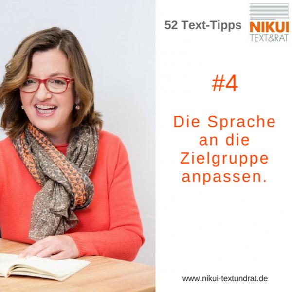 Tipps für gute Texte