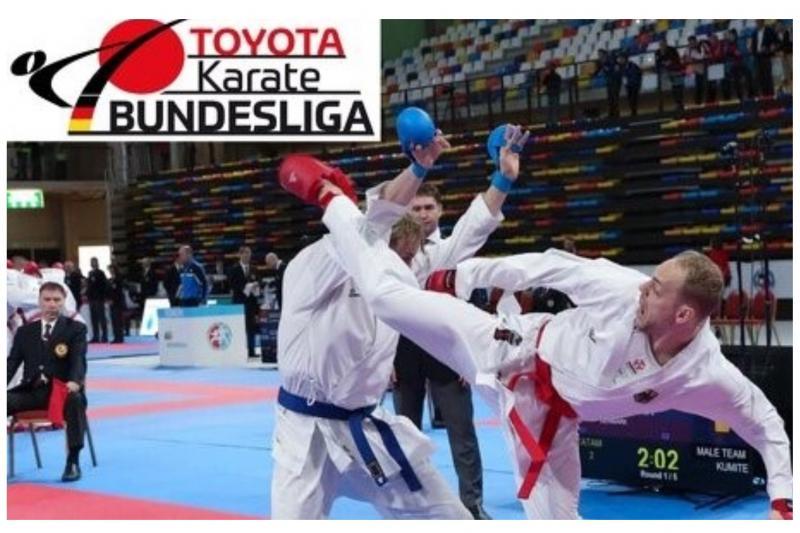 Toyota wird Partner der Karate-Bundesliga