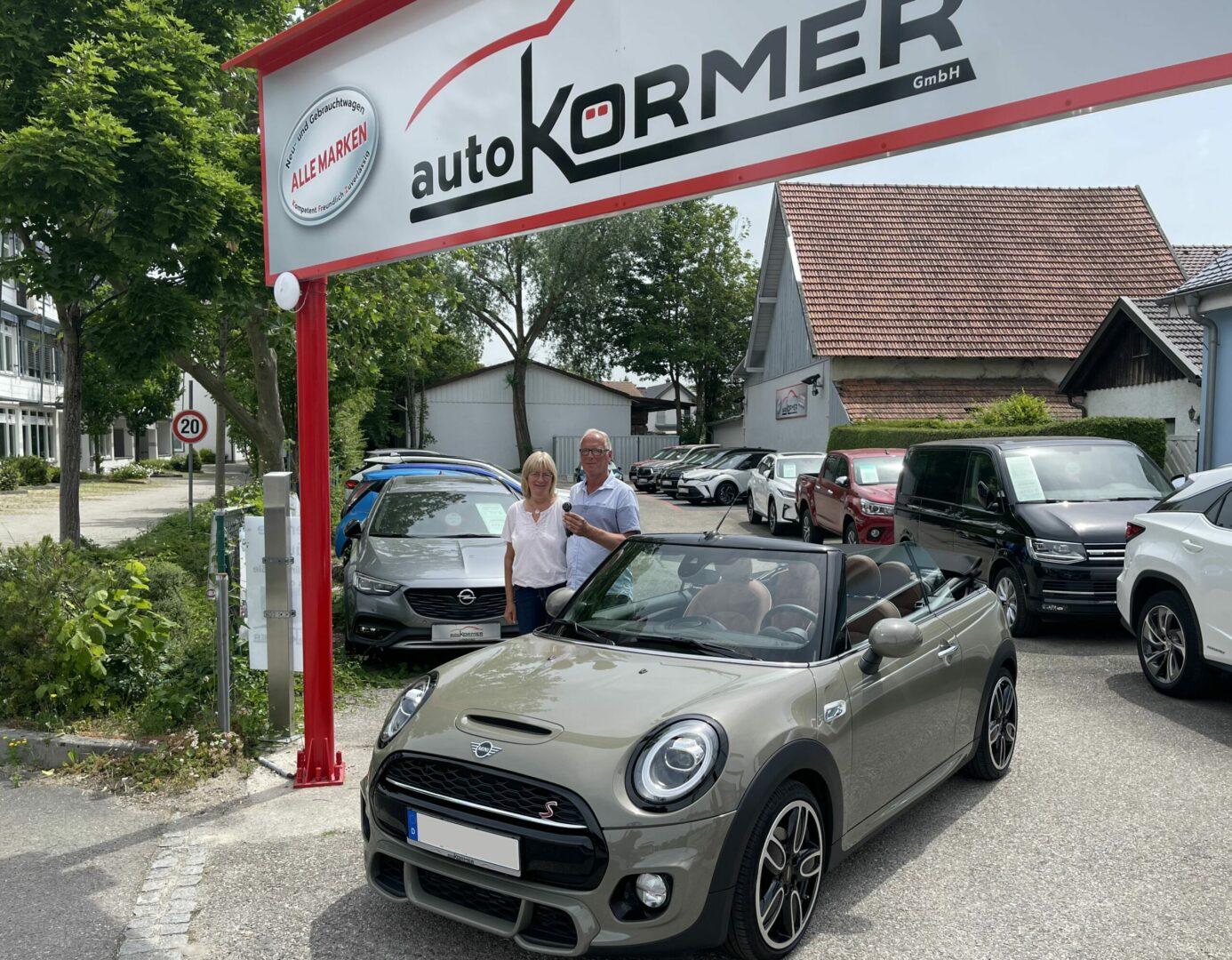 Wir gratulieren zum neuen Fahrzeug Herr Lutz - Mini Cooper -
