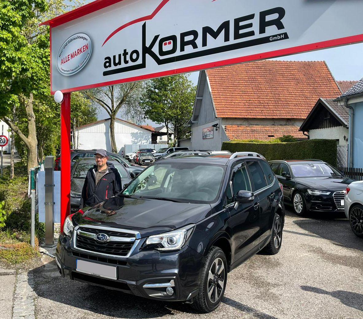 Wir gratulieren zum neuen Subaru Forester