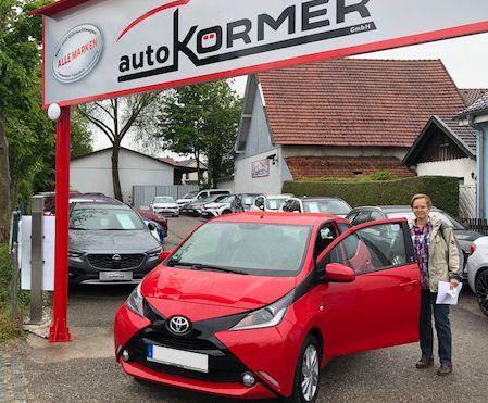 Wir gratulieren zum neuen Toyota Aygo