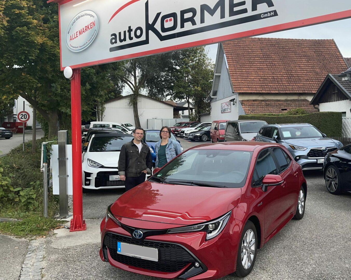 Wir gratulieren zum neuen Toyota Corolla Hybrid.